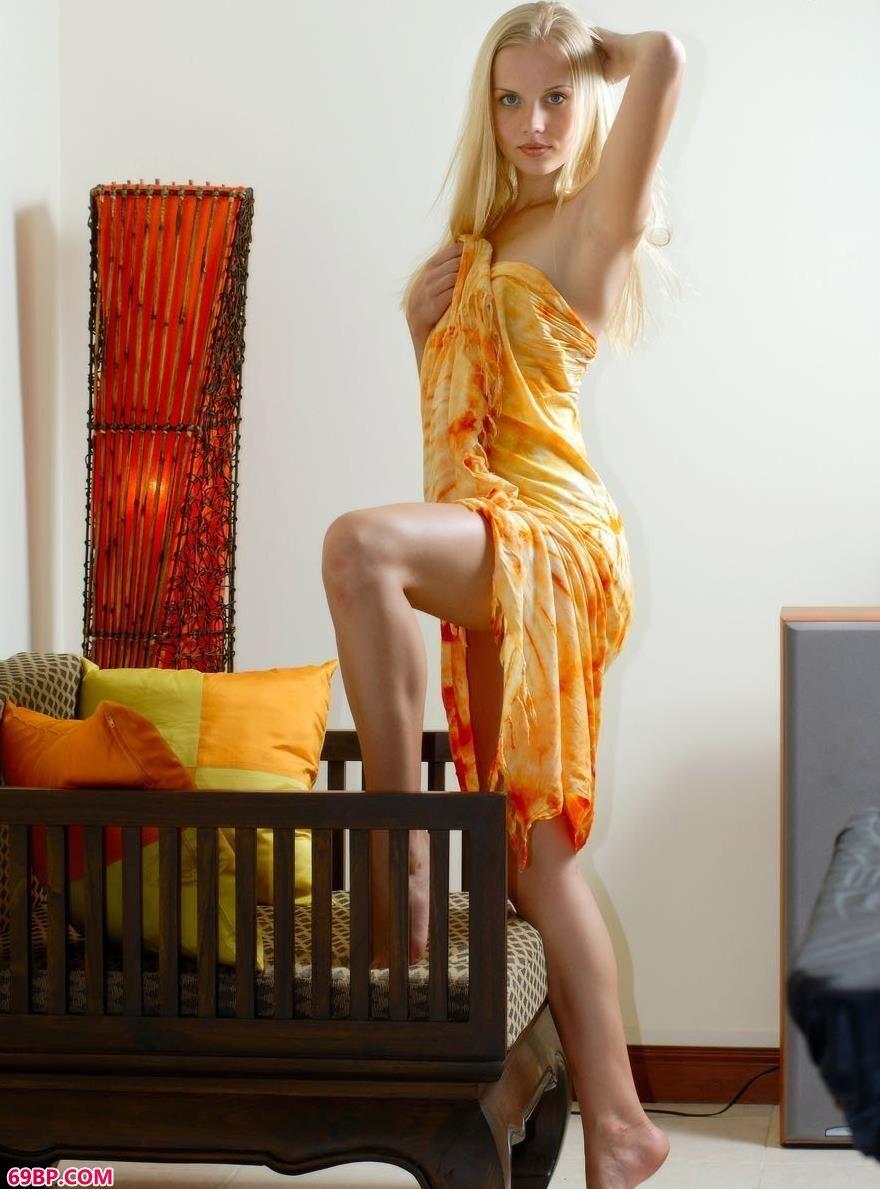美模萨拉室内人体图片当代1